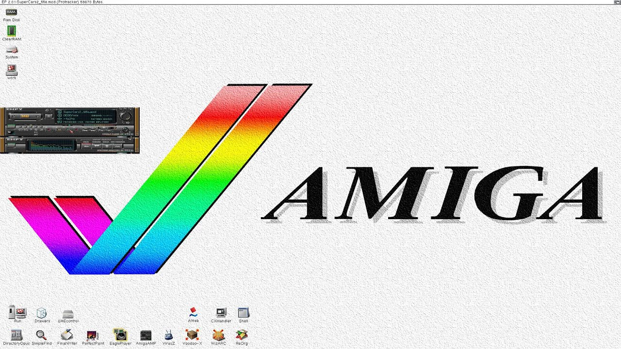 Amiga lha files