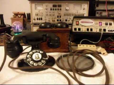 Western Electric Rotary 202 and Bell Box Telephone Repair  www A1-Telephone com 618-235-6959