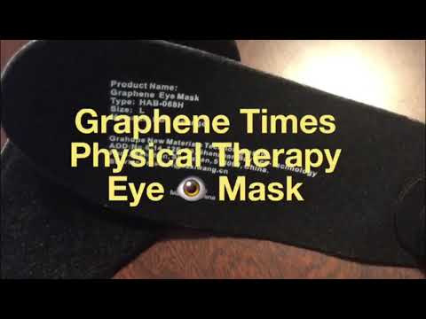 Graphene Times Physical Therapy Heated Eye Mask-- By: Grahope