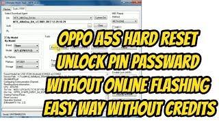 Oppo A5s Hard Reset Unlock Pin Passward Without Flashing Without Credits Free