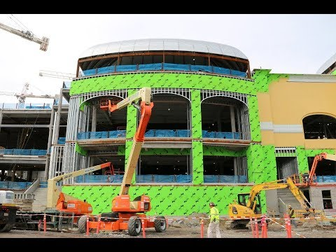Inside look at Wynn Boston Harbor construction
