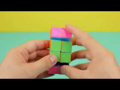 How To Make A Paper INFINITY CUBE! | origami infinity cube