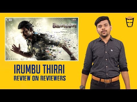Irumbu Thirai  Tamil Movie  | A Review on...