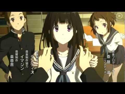 Hyouka Opening 2 HD 1080p