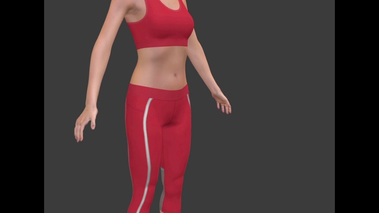 3d Yoga Outfit Design With Lotta Youtube