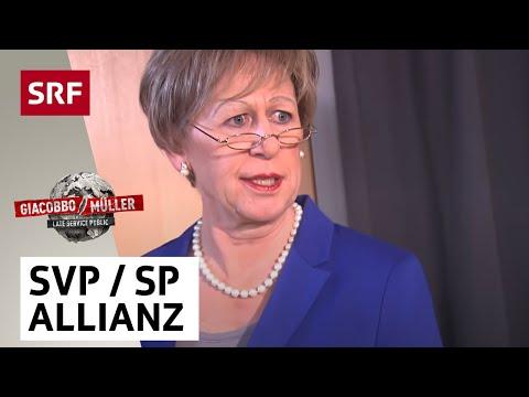Die SVPSPAllianz  Giacobbo  Müller