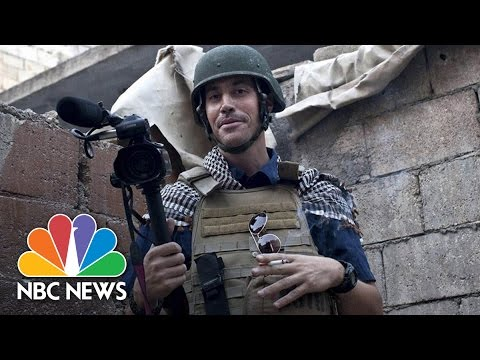 American James Foley Beheaded By ISIS   NBC News