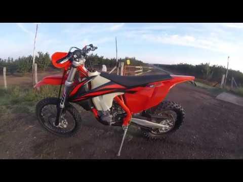 Test  KTM  EXC-F