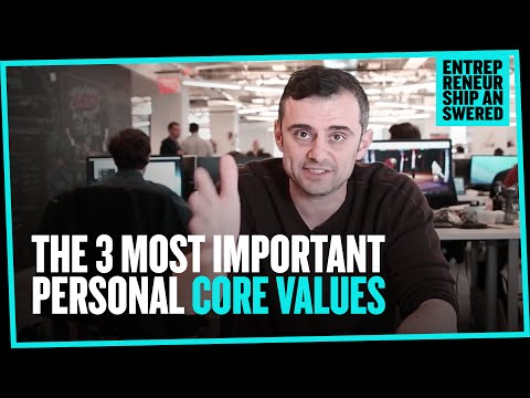 The 3 Most Important Personal Core Values