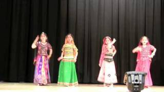 Indian Dance - Ghoomar Rajasthani Dance at JCNC 2009 (Steps & Beats)
