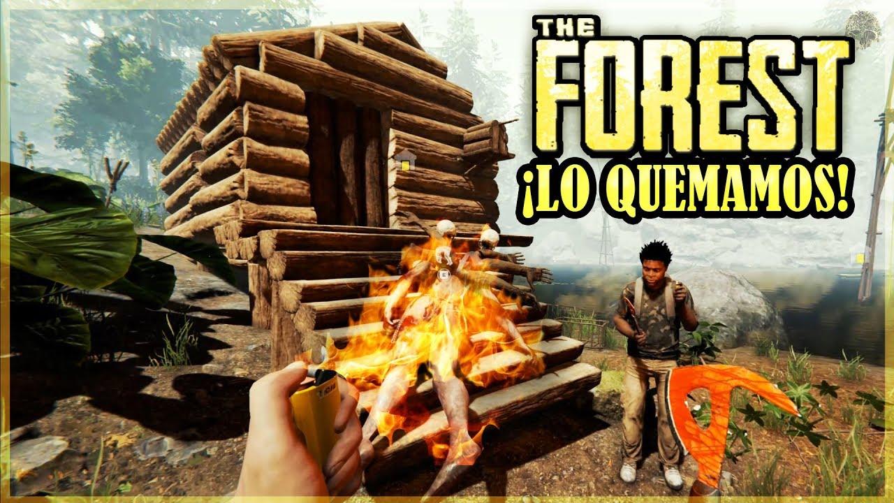 QUEMAMOS UN CANIBAL  - THE FOREST #3