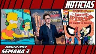 [C.H.A.O.S.] Los Simpsons y los eSports, James Gunn Regresa, La serie de Marvel What if