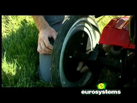 Motozappa eurosystems euro 102 youtube for Motozappa youtube