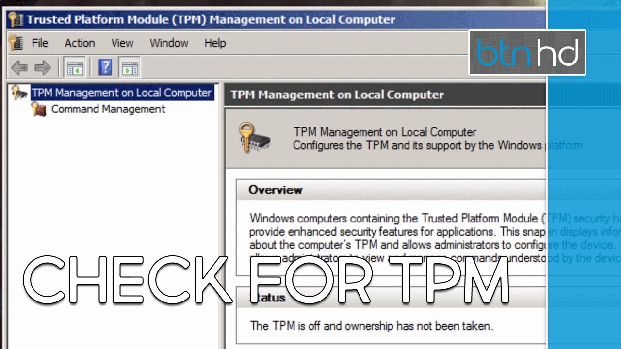 how to check if your computer has tpm enabled youtube