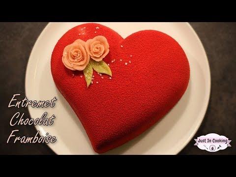 ♡-recette-d'entremets-cœur-chocolat-framboise-pour-la-saint-valentin-♡