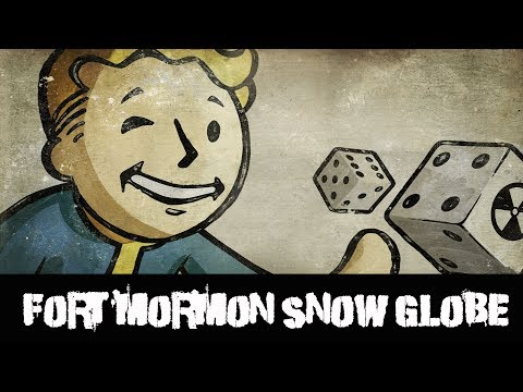 Fallout New Vegas Snow Globe Fort Mormon