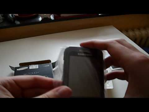 Samsung S5230 Star Unboxing