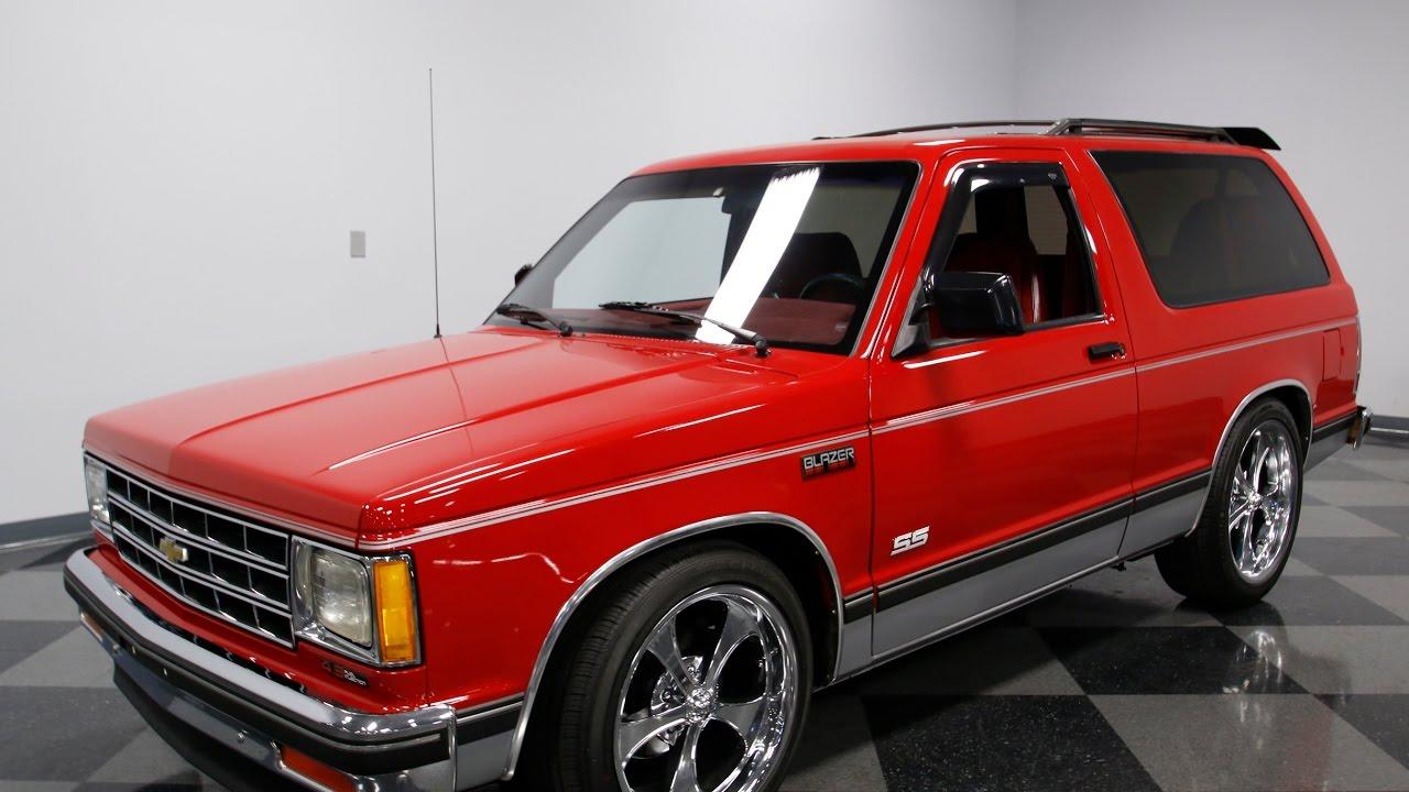 3962 Cha 1990 Chevy S 10 Blazer