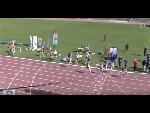 IUAA Womens 4 x 400m Relay Final - What a Finish!!