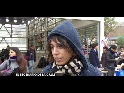 Artistas, músicos y humoristas se toman el Metro de Santiago - CHV NOTICIAS
