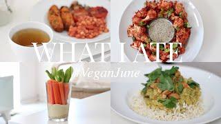 What I Ate #VeganJune 22 (Vegan/Plant-based) | JessBeautician