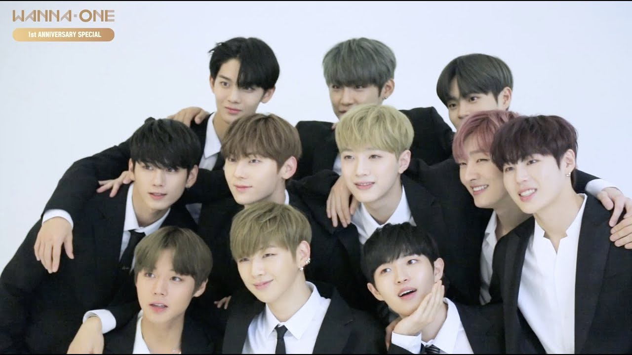 wanna one go wanna one l 1st anniversary special 170803 ep 0 youtube