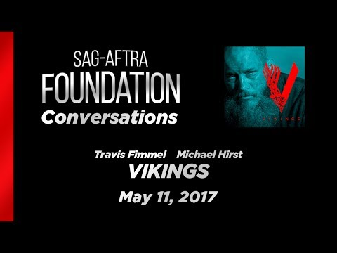 Conversations with Travis Fimmel and Michael Hirst of VIKINGS
