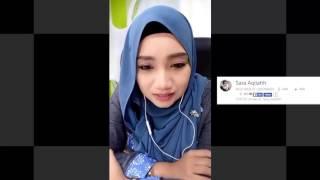 Nono Live Dibuka Beneran!! Sara Aqilahh 1 - Amboyy Cantik Nye Gadis Ni Pakek Kerudung Bigo Malesya