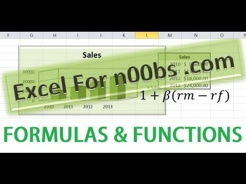 Advanced microsoft excel 2013 tutorial | display cell formulas in.