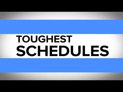 Football's Toughest Schedules