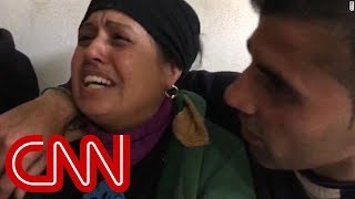 Mother in agony after airstrike kills her baby