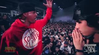 Repeat youtube video FlipTop - Abra vs Damsa
