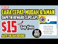 - CARA CEPAT DAPAT REWARD CLIPCLAPS - APLIKASI PENGHASIL UANG 2020