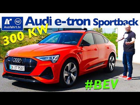 2020 Audi E-tron Sportback 55 Quattro - Kaufberatung, Test Deutsch, Review, Fahrbericht Ausfahrt.tv