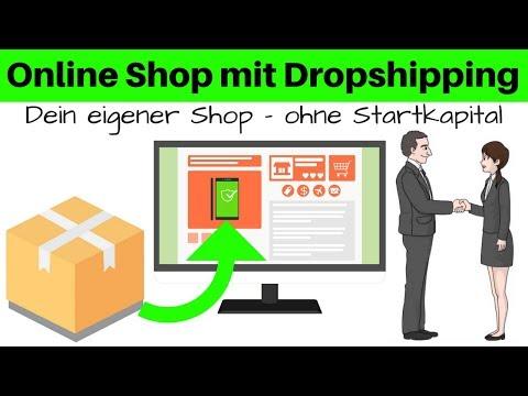 ONLINE SHOP OHNE STARTKAPITAL - GELD VERDIENEN MIT DROPSHIPPING thumbnail