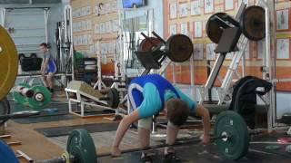 Маклаков Тимур, 13 лет, вк 46 Рывок 48 кг  Есть личный рекорд!