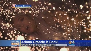 Baixar Trending:  Ariana Grande Releases New Single 'No Tears Left to Cry'
