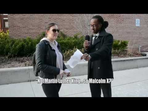 Asking Students Black History Month Questions (Wilfrid Laurier University)
