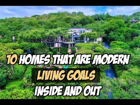 10 homes that are modern-living goals—inside and out Mp3