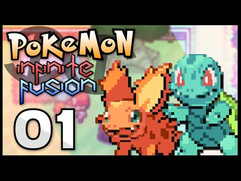 Pokémon Infinite Fusion - Episode 1 | Fusion Start!