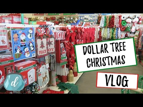Best Of Dollar Tree Christmas SHOP WITH ME & HAUL | 2016