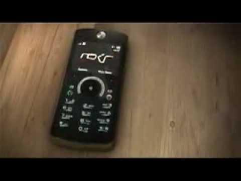 Comercial Motorola Rokr E8