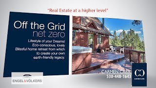 Carmen Carr Real Estate - Off-the-Grid Jewel for the sustainable Lifestyle of your Dreams!