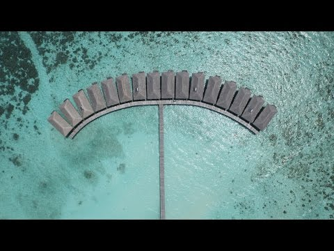 Aerial filming from Maldives | drone above the Maldives