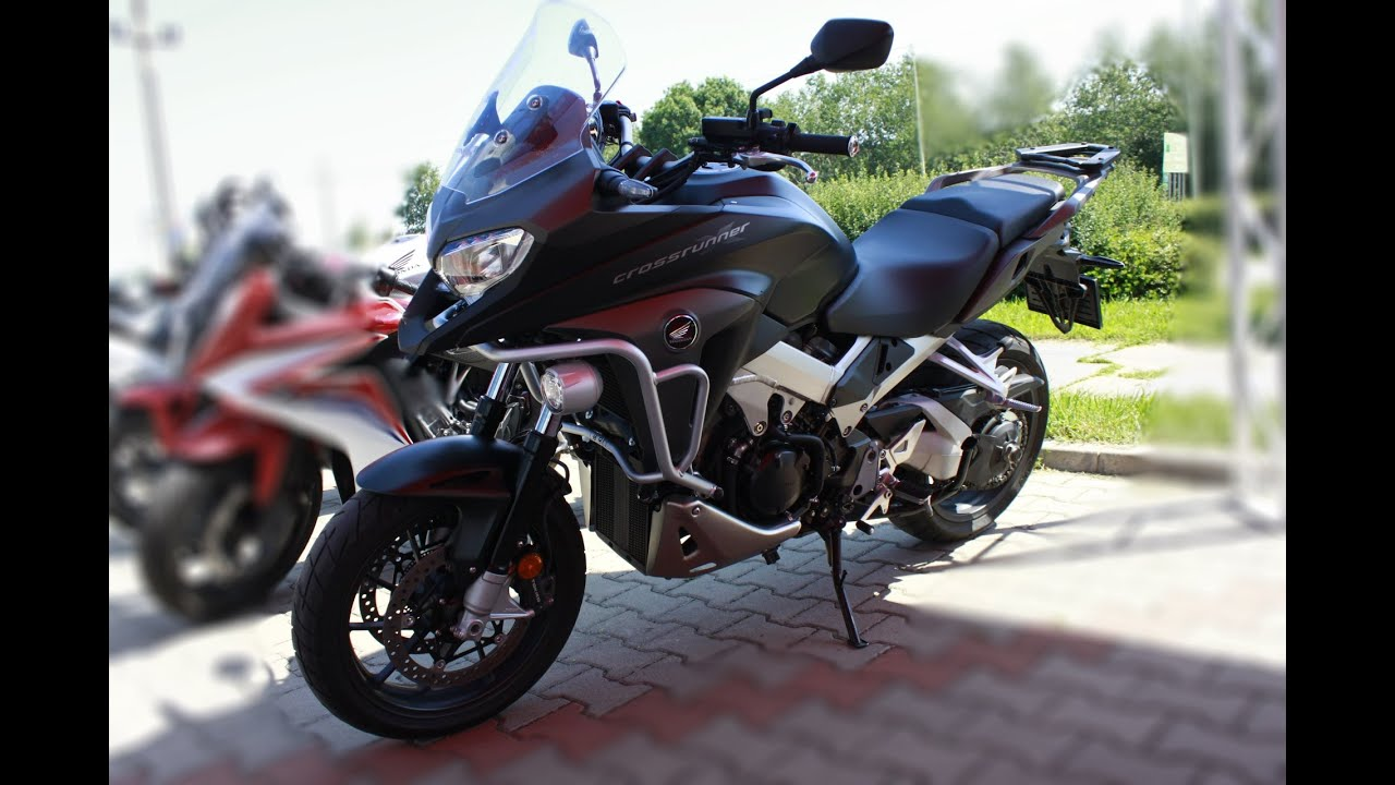 honda vfr800x crossrunner testdrive youtube. Black Bedroom Furniture Sets. Home Design Ideas