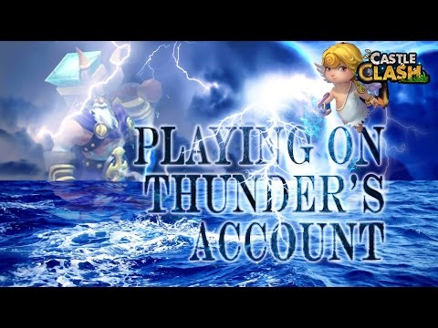 Castle Clash: Playing on --^Thunder--^'s Account | 9/10 Cupid | HBM T