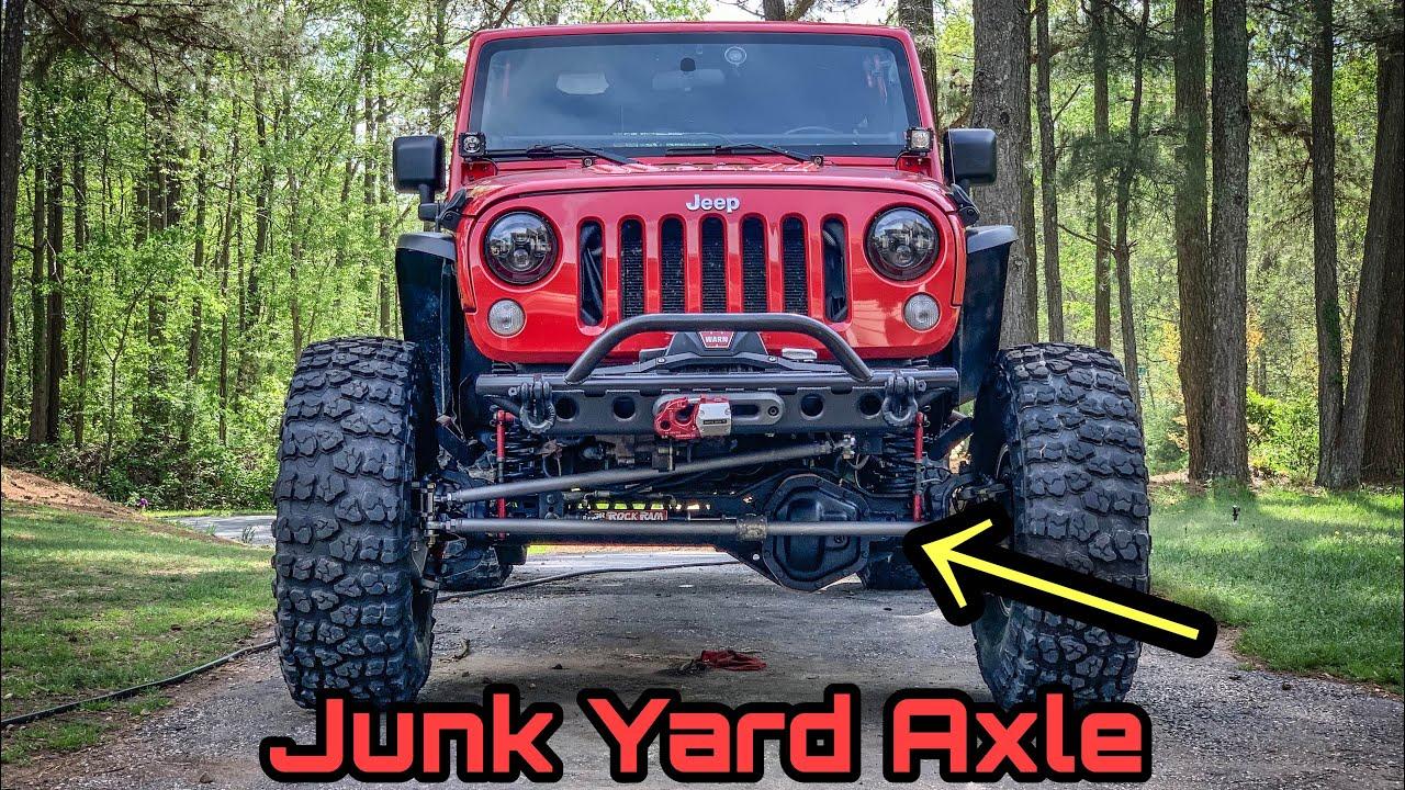 Installing a Ford Dana 60 Into My Jeep Wrangler - JK 1 Ton Swap
