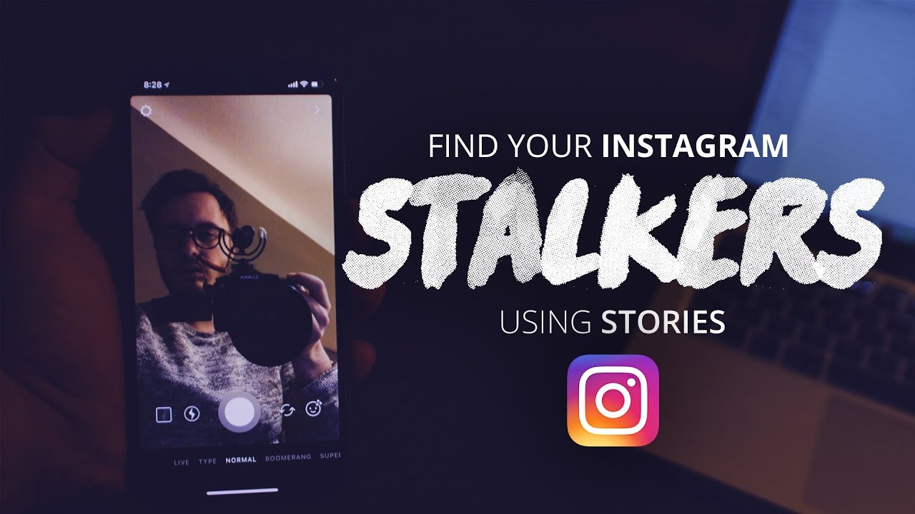 find your instagram STALKERS using the story feature