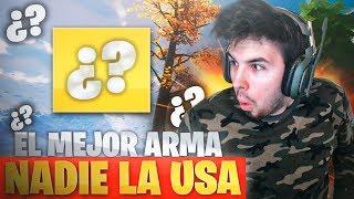 El MEJOR Arma que NADIE usa! FORTNITE: Battle Royale