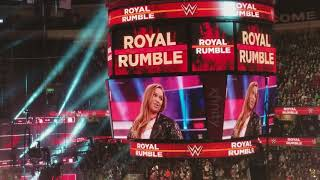 Ronda Rousey 2018 Royal Rumble Apperance - 1-28-18